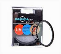 Maxsimafoto Filtre de protection UV pour Panasonic 14–140 mm f3.5–5.6 G Vario ASPH Power OIS Objectif Micro Four Thirds 58 mm