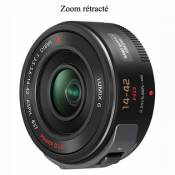 Objectif hybride Panasonic Lumix G Vario PowerZoom 14 - 42 mm f/3.5 - 5.6 ASPH. O.I.S.