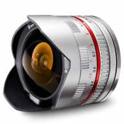 Samyang 8mm f/2.8 Fish-eye CS II Argent (Fuji X)