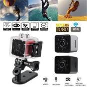 WIFI HD 1080P Caméra Sport Vision Nocturn 30FPS Video 155° Grand Angle Capture Mouvement Rouge So66974