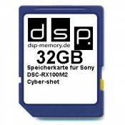 DSP Memory 4051557427709 de Z Ultra High Speed Carte Mémoire 32 Go Pour Appareil Photo Sony dsc-rx100 m2 Cyber-shot Digital