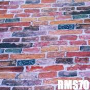 Fond Tissu Studio Photo Video DynaSun RMS70 Motif Bricks