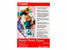 Canon MP-101 - Papier photographique mat - A4 (210 x 297 mm) 50 feuille(s) - pour PIXMA iP90, iX7000, MG8250, MP490, MP510, MP550, MP560, MP960, MX330