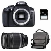 CANON EOS 1300D + 18-200 IS + Sac + Carte SD 4Go