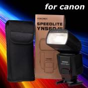 Yongnuo YN560 III flash Speedlite flash LCD pour Canon 1D 5D 6D 7D 60D LF242
