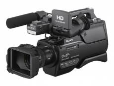 Sony HXR-MC2500E - Caméscope - 1080p - 6.59 MP - 12x zoom optique - flash 32 Go - carte Flash - Wi-Fi, NFC
