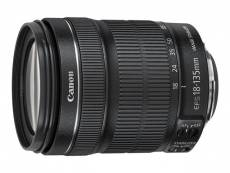 Canon EF-S - Objectif à zoom - 18 mm - 135 mm - f/3.5-5.6 IS STM - Canon EF-S - pour EOS 1100, 60, 600, 650, 7D, Kiss X3, Kiss X5, Kiss X50, Rebel T3,
