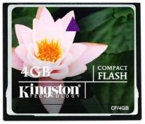 Kingston CF/4GB Carte CompactFlash Standard