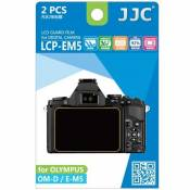 Lot de 2 films de protection pour Olympus OM-D E-M5 (LCP-EM5)