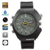XINDAY Montre Caméra Cachée Espion 8Go Full HD 1920x1080 Vision Nocturne Spy Watch A1644
