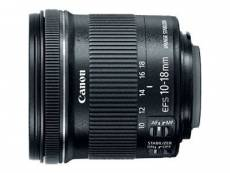 Canon EF-S - Objectif zoom grand angle - 10 mm - 18 mm - f/4.5-5.6 IS STM - Canon EF - pour EOS 100, 1200, 70, 700, 7D, Kiss X6i, Kiss X7, Kiss X70, K