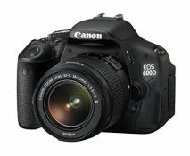 Canon EOS 600D SLR Camera with EF-S 18-55mm f/3.5-5.6 DC III Lens (18MP) 3.0 inch LCD (Reconditionné Certifié)