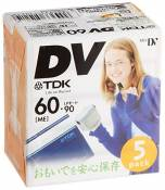TDK Mini DV Tape 60 MIN [Personal Computers] (japan import)