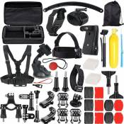 Generic Nouvel accessoire 49-In-1 Kit pour DJI OSMO Aatioa Pour GoPro Hero 7/6/5 / Session 4Hero