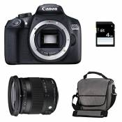 CANON EOS 1300D + SIGMA 17-70 CONTEMPORARY + Sac + SD 4 Go