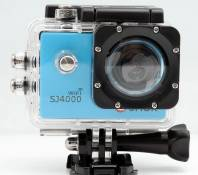 QUMOX WIFI SJ4000 Action Sport Cam Camera Waterproof Full HD 1080p 720p Video Helmetcam caméra Bleu