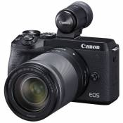 Canon CANON EOS M6 Mark II Black + EF-M 18-150mm F3.5-6.3 IS STM Black + EVF-DC2 Electronic Viewfinder Black