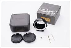 Metabones Adaptateur Objectif Canon EOS EF vers Sony NEX E-Mount Smart (Mark IV)