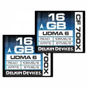 Delkin Devices CompactFlash 700x Carte mémoire 32 Go