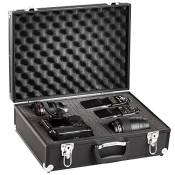 Solidguard by Brubaker valise photo en aluminium semi professionnelle noir