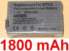 Canon Battery Pack Li-Ion Bp315 7.4V 1520Mah
