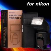 Yongnuo YN-568EX TTL Flash for Speedlite HSS Nikon D7000 D5200 D5100 D5000 LF243-PM1
