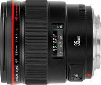 Canon EF Objectif grand angle 35 mm f/1.4 L USM Canon EF
