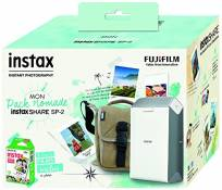 "Fujifilm Instax Share 2 ""My pack Nomade"" Imprimante Argent"