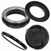 Fotodiox Macro Reverse Adapter Compatible with 77mm Filter Thread on Nikon F Mount Cameras