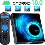 DOOK H96 Max Android 10.0 TV Box[4G+32G] 6K-4K Ultra HD Boitier Android TV Allwinner H616 64-bit Quad Core Arm Cortex-A5 149529