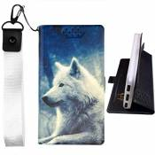 Lovewlb Coque pour Pcbox Smartphone King Pcb-I316 Coque Cover Case Housse Flip Cuir PU + Etui en Silicone Fixe Protection Lang