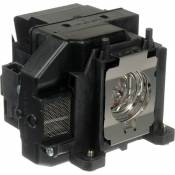 Electrified Replacement Lamp with Housing for ELPLP67 for Epson Products - 150 Day Electrified Warranty