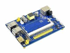 Computing Module Expansion Board CM3/3Lite/3/3+ Applicable Backplane Extended Multiple Interfaces with PoE for Raspberry Pi,Support PoE Power Over Eth
