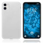 PhoneNatic Coque en Silicone Compatible avec Apple iPhone 11 - Transparent Crystal Clear - Cover Cubierta Cover