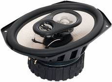 Earthquake Sound F-6x9 600W 3-Way Focus Series Coaxial Speakers, PAIR
