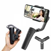 Feiyu Vlog Pocket Gimbal for Smartphone, with Carry Bag,Tripod and Extension Rod …
