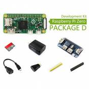 @WENDi Raspberry Pi Zero (D), with HDMI to HDMI Adapter, OTG Cable, USB HUB Hat, Micro SD Card 16GB, etc.