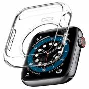 Spigen Liquid Crystal Compatible avec Apple Watch Coque for 44mm Series 6 / Se/Series 5 / Series 4 - Crystal Clear
