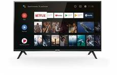TCL 40ES561 TV LED 100 cm (40 pouces) Smart TV (Full HD, Triple Tuner, Android TV, Prime Video, HDR, Micro Dimming, Dolby Audio, Google Assistant)
