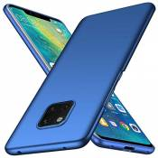 TXLING Coque Huawei Mate 20 Pro PC Finition Matte [Ultra Leger] [Ultra Mince] Anti-Rayures Coque Rigide Etui Housse Full-Cover Case pour Huawei Mate 2