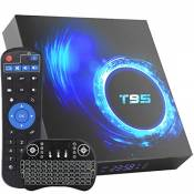 TV Box Android 10.0, Android TV Boxes 4GB RAM 64GB ROM H616 Quad-Core 64-bit Support 6K, 3D, WiFi, 2.4G USB 3.0 Smart TV Box