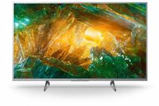 """TV Sony KD43XH8077SAEP 4K HDR LED Smart TV 43"""" Argent"""
