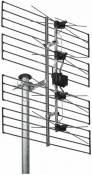 Antenne 'Wisi 72516 EE 06 0297 antenne UHF surfaces canaux argent