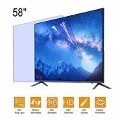 N / A TV Screen Protector Anti-Glare Film/lumière Filtre Anti-Bleu pour 58 Pouces 52 Pouces 49 Pouces, la Fatigue des Yeux, pour Soulager LED LCD OLED