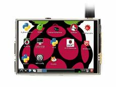 Waveshare Raspberry Pi 3.5inch RPi LCD (C) Resistive Touch Screen TFT 480x320 Resolution 125MHz High-Speed SPI for All Version of Raspberry Pi Raspber