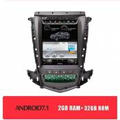 10.4 inch FM AM 2 Din Car Stereo Music Radio Digital Media - Applicable for Cadillac SRX 2009-2012, GPS Navigation MP3 Multimedia Bluetooth Navigator Player Android