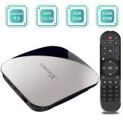 TV Box Android 9.0, TUREWELL Android Box RK3328 Quad-Core 64bit 2GB RAM 16GB ROM Support BT 4.2 - Dual WiFi 2.4GHz-5GHz-3D-4K-H.2