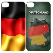 3D Cover für Apple iPhone 4/4S Allemagne